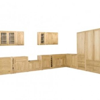 Hand Made Oak Free Standing Kitchens